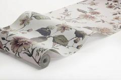 3592 cikkszámú tapéta.Virágmintás,fehér,pink-rózsaszín,súrolható,vlies poszter, fotótapéta