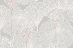 3120 cikkszámú tapéta.Virágmintás,szürke,lemosható,vlies tapéta