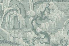 3131 cikkszámú tapéta.Rajzolt,természeti mintás,szürke,lemosható,vlies tapéta