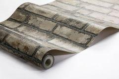 1159 cikkszámú tapéta.Kőhatású-kőmintás,különleges felületű,barna,bézs-drapp,lemosható,vlies tapéta