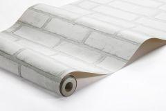 1161 cikkszámú tapéta.Kőhatású-kőmintás,különleges felületű,fehér,szürke,lemosható,vlies tapéta