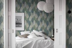 1162 cikkszámú tapéta.Különleges felületű,természeti mintás,bézs-drapp,türkiz,zöld,lemosható,vlies tapéta