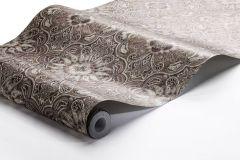 1167 cikkszámú tapéta.Különleges felületű,különleges motívumos,marokkói ,barna,narancs-terrakotta,vajszín,lemosható,vlies tapéta