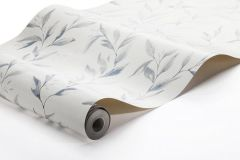 1169 cikkszámú tapéta.Különleges felületű,természeti mintás,fehér,kék,lemosható,vlies tapéta