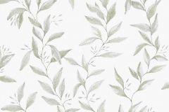 1170 cikkszámú tapéta.Különleges felületű,természeti mintás,fehér,zöld,lemosható,vlies tapéta
