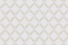 4008 cikkszámú tapéta.Fa hatású-fa mintás,különleges motívumos,textilmintás,kockás,textil hatású,szürke,zöld,lemosható,vlies tapéta