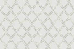 4009 cikkszámú tapéta.Kockás,textil hatású,fa hatású-fa mintás,textilmintás,szürke,zöld,lemosható,vlies tapéta