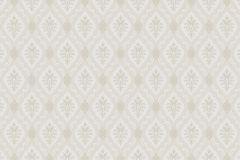 4017 cikkszámú tapéta.Textil hatású,barokk-klasszikus,különleges motívumos,fehér,szürke,bézs-drapp,lemosható,vlies tapéta