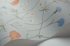 4039 cikkszámú tapéta.Különleges motívumos,virágmintás,természeti mintás,gyerek,szürke,kék,pink-rózsaszín,sárga,lemosható,vlies tapéta