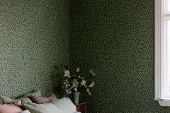 7663 cikkszámú tapéta.Természeti mintás,fekete,zöld,lemosható,vlies tapéta