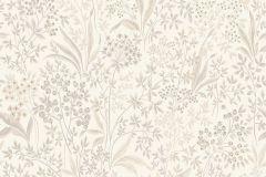 7269 cikkszámú tapéta.Különleges felületű,rajzolt,virágmintás,bézs-drapp,fehér,szürke,lemosható,vlies tapéta