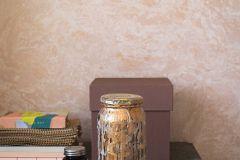 7271 cikkszámú tapéta.Egyszínű,különleges felületű,bézs-drapp,pink-rózsaszín,lemosható,vlies tapéta