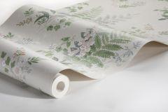 7222 cikkszámú tapéta.Különleges felületű,rajzolt,természeti mintás,virágmintás,bézs-drapp,fehér,kék,zöld,lemosható,vlies tapéta