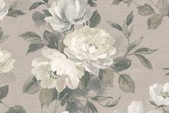 7225 cikkszámú tapéta.Különleges felületű,rajzolt,természeti mintás,virágmintás,bézs-drapp,szürke,vajszín,lemosható,vlies tapéta