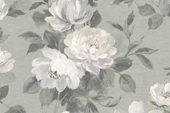 7226 cikkszámú tapéta.Különleges felületű,rajzolt,természeti mintás,virágmintás,bézs-drapp,szürke,lemosható,vlies tapéta