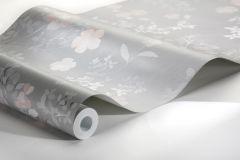 7233 cikkszámú tapéta.Különleges felületű,rajzolt,természeti mintás,virágmintás,bézs-drapp,szürke,vajszín,lemosható,vlies tapéta