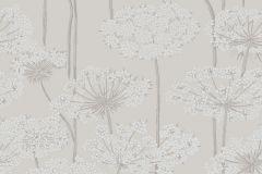 5478 cikkszámú tapéta.Retro,természeti mintás,virágmintás,bézs-drapp,szürke,lemosható,vlies tapéta