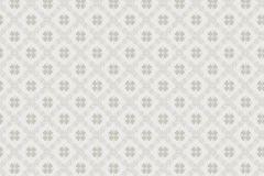5484 cikkszámú tapéta.Geometriai mintás,kockás,retro,virágmintás,bézs-drapp,szürke,lemosható,vlies tapéta