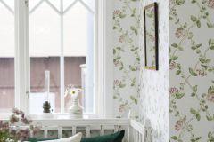 8852 cikkszámú tapéta.Különleges felületű,természeti mintás,virágmintás,fehér,pink-rózsaszín,zöld,lemosható,vlies tapéta