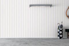 8877 cikkszámú tapéta.Csíkos,különleges felületű,bézs-drapp,fehér,narancs-terrakotta,lemosható,illesztés mentes,vlies tapéta