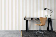 8880 cikkszámú tapéta.Csíkos,különleges felületű,bézs-drapp,fehér,sárga,lemosható,illesztés mentes,vlies tapéta