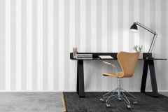 8881 cikkszámú tapéta.Csíkos,különleges felületű,fehér,szürke,lemosható,illesztés mentes,vlies tapéta