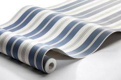 8885 cikkszámú tapéta.Csíkos,különleges felületű,bézs-drapp,fehér,kék,lemosható,illesztés mentes,vlies tapéta