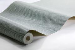 6854 cikkszámú tapéta.Csíkos,textilmintás,zöld,lemosható,illesztés mentes,vlies tapéta