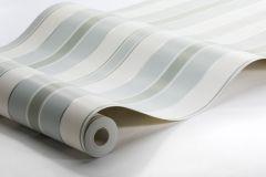 6878 cikkszámú tapéta.Csíkos,különleges felületű,fehér,szürke,türkiz,zöld,lemosható,illesztés mentes,vlies tapéta
