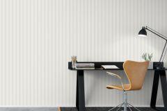 6882 cikkszámú tapéta.Csíkos,különleges felületű,fehér,szürke,lemosható,illesztés mentes,vlies tapéta