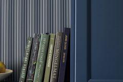 6884 cikkszámú tapéta.Csíkos,különleges felületű,ezüst,kék,lemosható,illesztés mentes,vlies tapéta