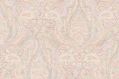 1922 cikkszámú tapéta.Barokk-klasszikus,különleges felületű,rajzolt,arany,fehér,gyöngyház,narancs-terrakotta,piros-bordó,lemosható,vlies tapéta