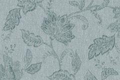 1927 cikkszámú tapéta.Különleges felületű,rajzolt,virágmintás,zöld,lemosható,vlies tapéta