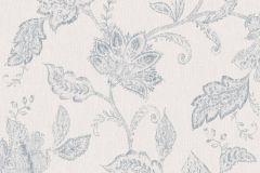 1929 cikkszámú tapéta.Különleges felületű,rajzolt,virágmintás,kék,szürke,lemosható,vlies tapéta