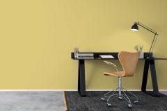 7990 cikkszámú tapéta.Egyszínű,sárga,lemosható,illesztés mentes,vlies tapéta