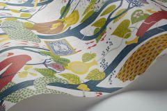 1757 cikkszámú tapéta.Absztrakt,emberek-sztárok,különleges motívumos,rajzolt,retro,barna,fehér,kék,lila,szürke,zöld,lemosható,vlies tapéta