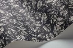 1773 cikkszámú tapéta.Rajzolt,retro,természeti mintás,fehér,fekete,lemosható,vlies tapéta