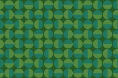 1777 cikkszámú tapéta.Absztrakt,geometriai mintás,pöttyös,retro,türkiz,zöld,lemosható,vlies tapéta