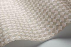 1782 cikkszámú tapéta.Absztrakt,geometriai mintás,rajzolt,retro,fehér,lila,pink-rózsaszín,lemosható,vlies tapéta