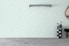 6241 cikkszámú tapéta.állatok,gyerek,különleges felületű,különleges motívumos,rajzolt,fehér,zöld,lemosható,vlies tapéta