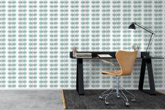 6248 cikkszámú tapéta.Csíkos,különleges felületű,különleges motívumos,rajzolt,retro,fehér,fekete,kék,szürke,lemosható,vlies tapéta