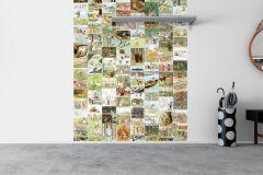 6267 cikkszámú tapéta.állatok,csíkos,kockás,tájkép,természeti mintás,barna,bézs-drapp,fehér,fekete,kék,piros-bordó,sárga,zöld,lemosható,vlies panel, fotótapéta