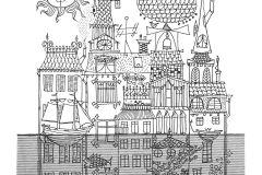 6274 cikkszámú tapéta.állatok,csíkos,gyerek,különleges motívumos,rajzolt,retro,ezüst,fehér,fekete,szürke,lemosható,vlies panel, fotótapéta