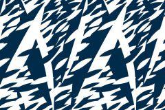2765 cikkszámú tapéta.Retro,természeti mintás,absztrakt,fehér,kék,gyengén mosható,vlies panel, fotótapéta