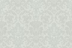 6326 cikkszámú tapéta.Barokk-klasszikus,különleges motívumos,rajzolt,virágmintás,zöld,lemosható,vlies tapéta