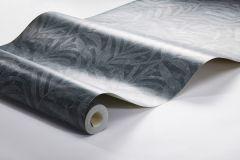 3072 cikkszámú tapéta.Természeti mintás,textil hatású,fekete,kék,lemosható,vlies tapéta