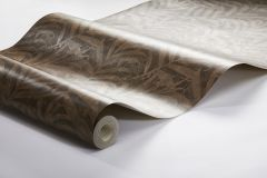 3073 cikkszámú tapéta.Természeti mintás,barna,bézs-drapp,bronz,lemosható,vlies tapéta