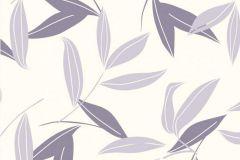 CD3005 cikkszámú tapéta.Különleges motívumos,természeti mintás,virágmintás,fehér,lila,lemosható,vlies tapéta