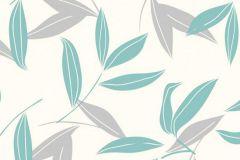 CD3006 cikkszámú tapéta.Különleges motívumos,természeti mintás,virágmintás,fehér,szürke,zöld,lemosható,vlies tapéta