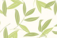 CD3007 cikkszámú tapéta.Különleges motívumos,természeti mintás,virágmintás,fehér,zöld,lemosható,vlies tapéta